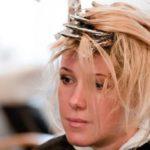Мелирование корней волос в круглосуточном салоне красоты в Президент Отеле на Якиманке