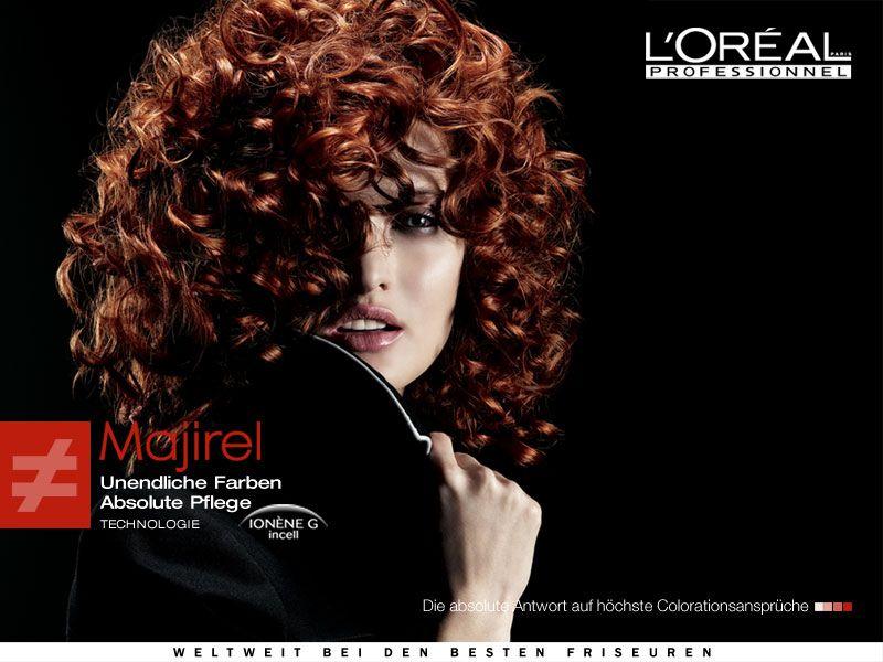 Окрашивание волос L'Oreal Majirel в круглосуточном салоне красоты на Тверской