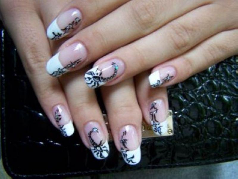 Дизайн художественный ногтей рук в круглосуточном салоне красоты на Тверской
