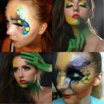 Профессиональный макияж, грим и создание образа на тематические праздники - Хэллоуин, Новый Год, День Рождения