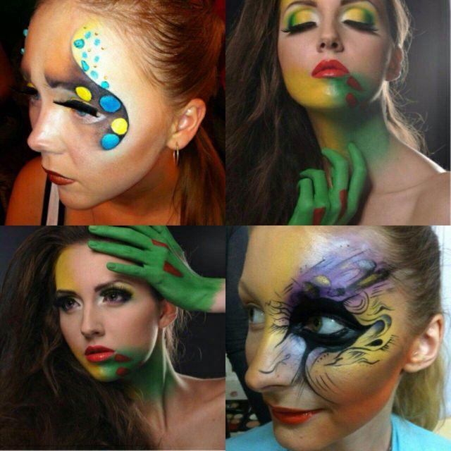 Профессиональный макияж, грим и создание образа на тематические праздники - Хэллоуин, Новый Год, День Рождения и т.д.